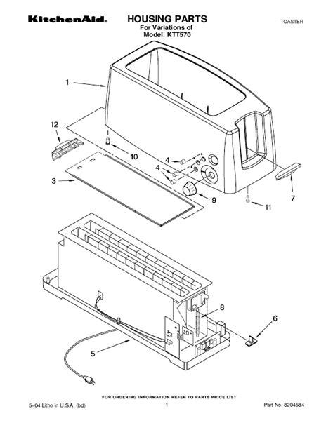 Kitchenaid: Kitchenaid Toaster Parts