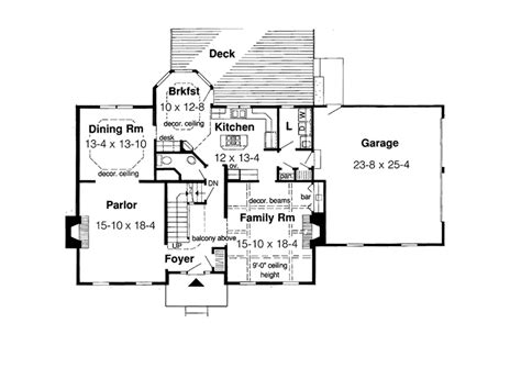 American House Plans With Photos by Awesome American Home Plans 9 Early American House Floor