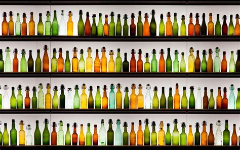 bottles on the shelves wallpapers and images wallpapers