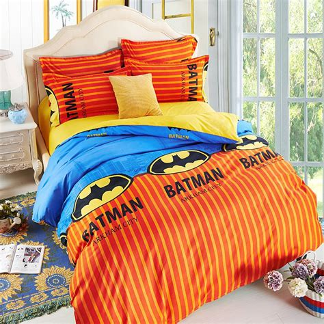 superhero bedding twin batman superhero kids bedding set twin 4pc sale