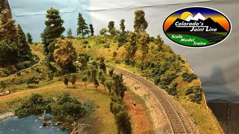 easy hills mountains  model train layouts