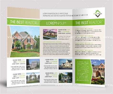 property brochure template free property brochure template free free template