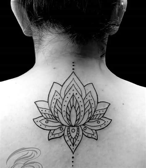 tattoo lotus flower mandala black ink classy mandala lotus flower tattoo for hot girl