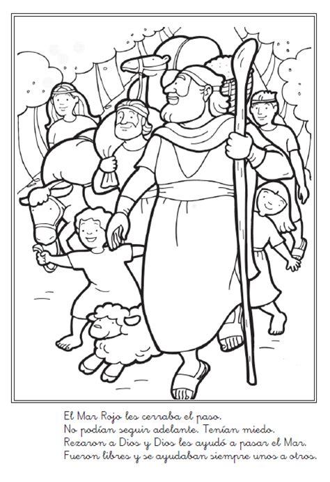 imagenes biblicas moises historia b 237 blica de mois 233 s para colorear liberaci 243 n de