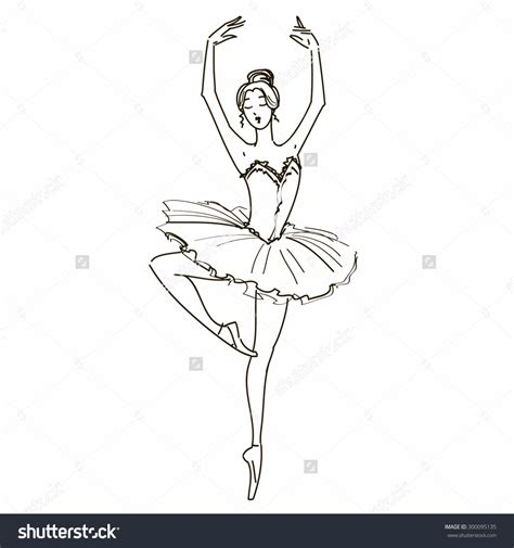 Drawing A by How To Draw Ballet Ballerina Drawing Stepstep How To Draw