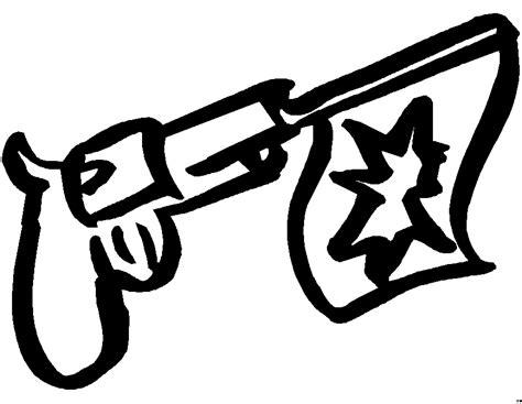 pistole  ausmalbild malvorlage kinder