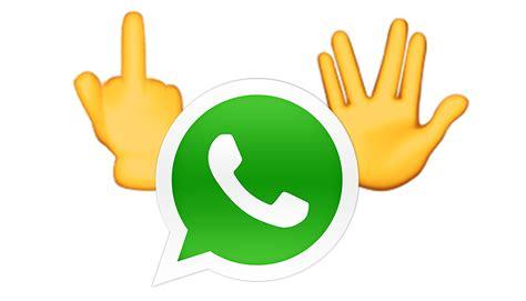 imagenes de emojis sacando el dedo whatsapp quot dedo medio quot y saludo vulcano son nuevos emojis