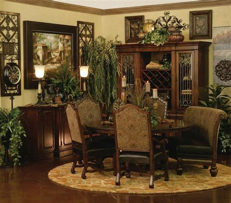 old world dining room sets hemesheres dining room decorating old world ideas for my