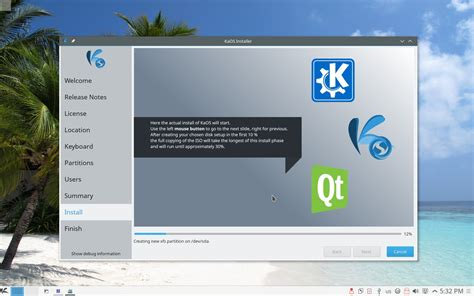 Kaos Distro Oceanseven One Edition 11 beautiful kaos 2015 11 is out with kde plasma 5 4 3 kde