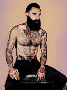 Tattoo Hall Body   man tattoo traditional body arm beard tattoo