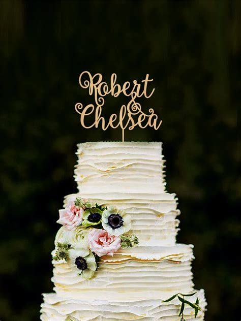 Handmade And Groom Cake Toppers - custom cake topper wedding cake decorations personalized