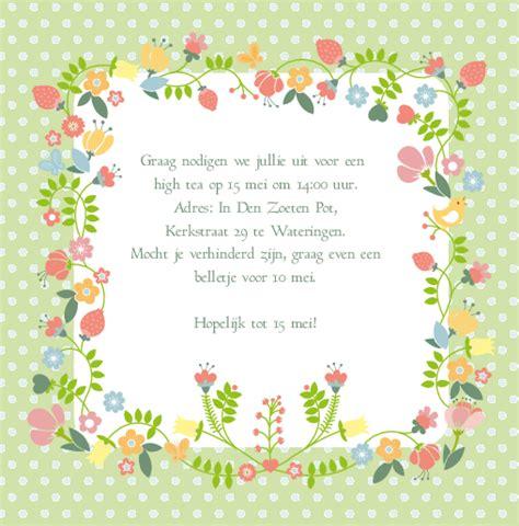 verjaardag 20 jaar bloemen uitnodiging bloemen 25 jaar dubbel kaartkeuze