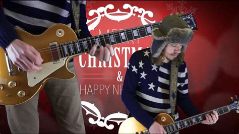 weezer     merry christmas guitar cover youtube
