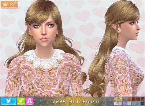 dollhouse hair sims 4 hairs newsea j225 dollhouse hair