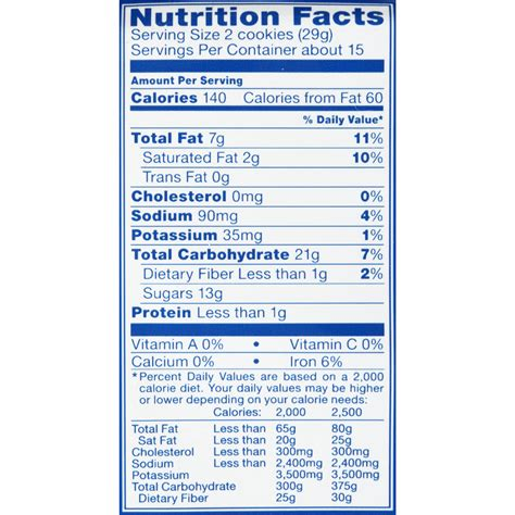 nutrition facts stuff oreos nutrition facts nutrition ftempo