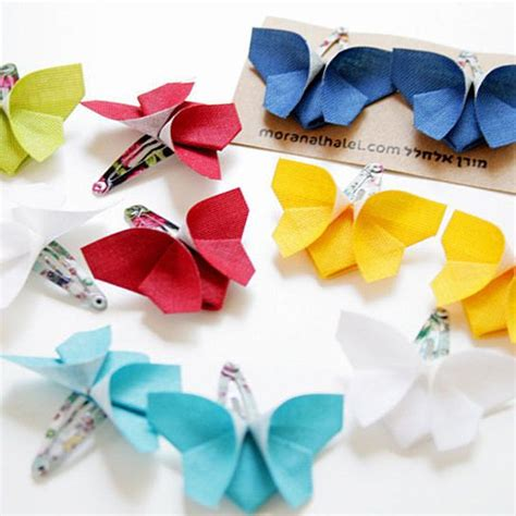 Origami Hair - origami butterfly pair hair http rstyle me n