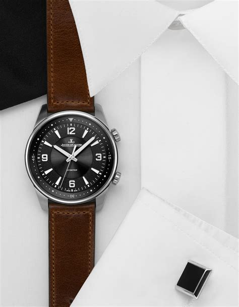 designboom watch jaeger lecoultre polaris watch unifies vintage and