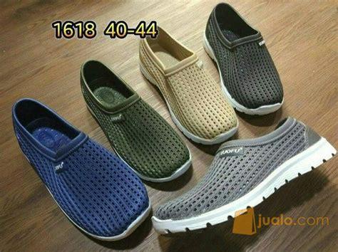 Adidas Biru Sepatu Casual Pria sepatu karet pria cowo luofu casual sneakers biru ijo
