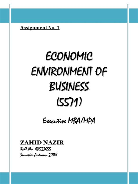 What Is Mba In Economics by Assignment Economics Col Mba Semester 1 Price Elasticity