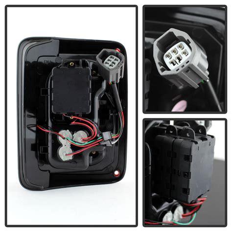 smoked lights for jeep wrangler 2007 2015 jeep wrangler full led performance tail lights