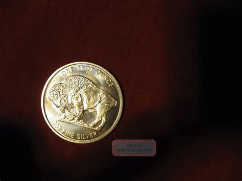 1 Troy Ounce Silver Buffalo Coin - uncirculated 1 oz ounce 999 silver indian