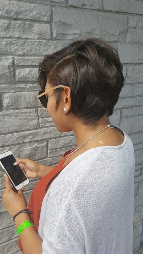 short hair cut with no relaxer 25 best ideas about relaxed hair hairstyles on pinterest