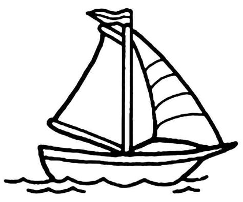 4 best images of boat coloring pages printable printable
