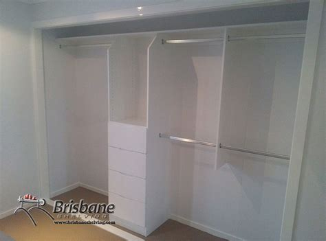 Wardrobe Fit Out Brisbane brisbane sliding custom built out walk in flat pack