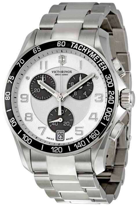 Swiss Army 2201 Silver Combi victorinox swiss army chrono classic silver mens 241495 review top 100 watches