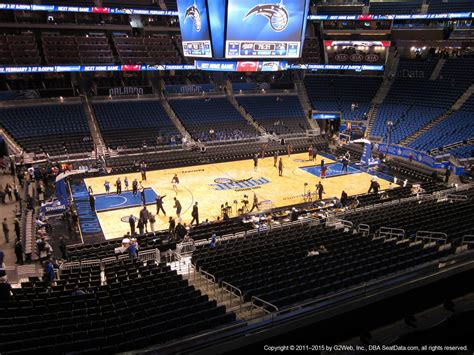 ce section amway center section ce orlando magic rateyourseats com