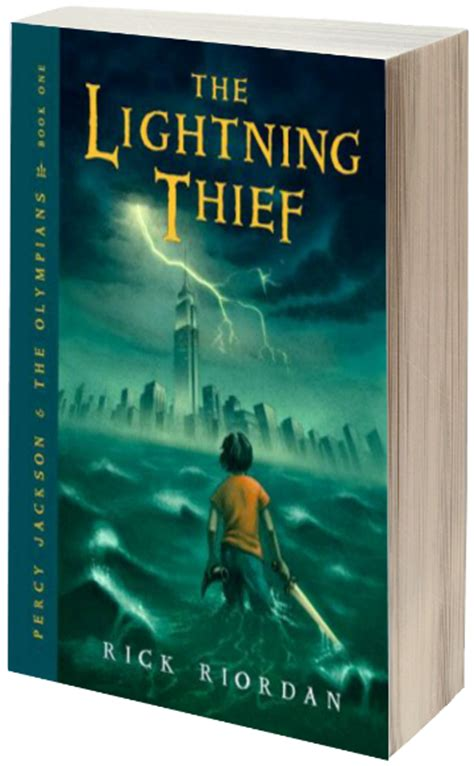 the stolen louise rick series books review the lightning thief by rick riordan