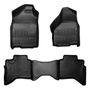 husky liners 99011 2009 dodge ram black custom floor mats