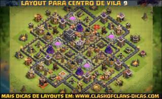 Layouts de cv9 clash of clans clash of clans dicas gemas gr 225 tis