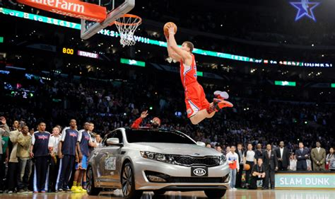Griffin Dunk Kia by Griffin Reveals Nba Forced Him To Jump A Kia