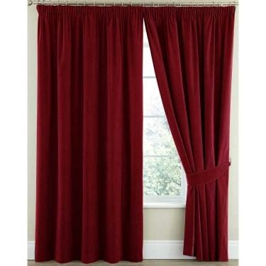 crimson red curtains quality collection of ready made curtains from closs hamblin