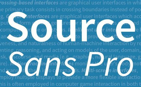 font design open source adobe releases source sans pro a new open source font