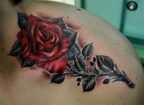 cool rose tattoo for a guy tattoos pinterest