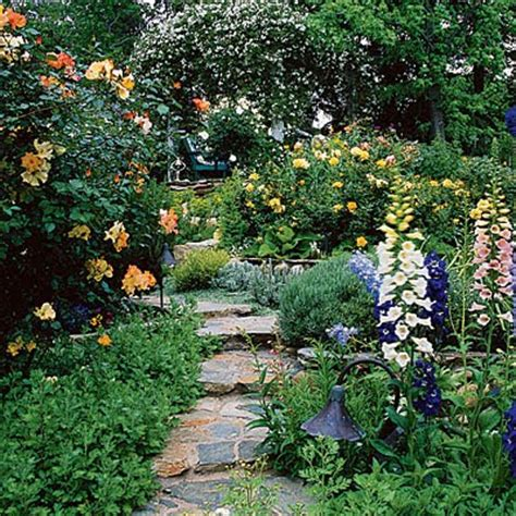 cottage garden paths southern lagniappe the charm of a cottage garden