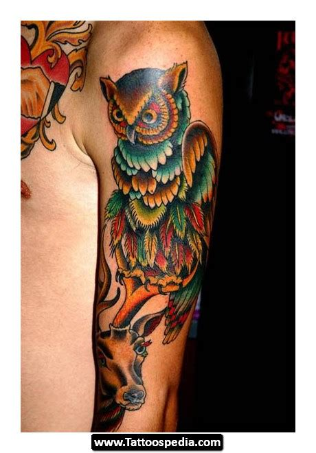 traditional owl tattoo meaning american traditional owl meaning portrait