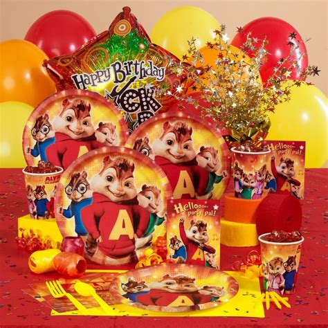 alvin and the chipmunks birthday supplies