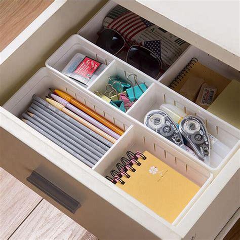 compre ajustable cajon organizador caja de almacenamiento