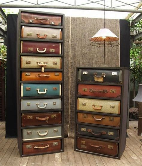 Luggage Dresser by 13 Diy Clever Ways How To Re Purpose Vintage Suitcase