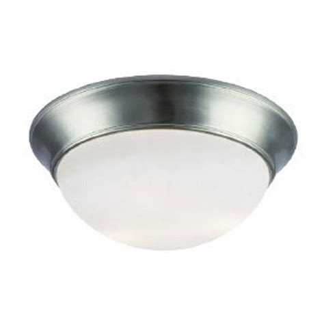A Guide To Where Nickel Ceiling Lights Best Match Warisan Lighting Lighting 3 Light Brushed Nickel Ceiling Flushmount Sl878378 The Home Depot