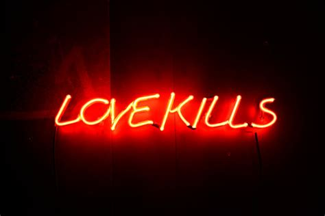 images of love kills items similar to neon sign love kills on etsy
