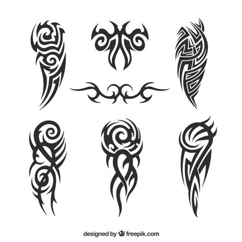 tribal tattoos and what they mean vectors photos and psd files free