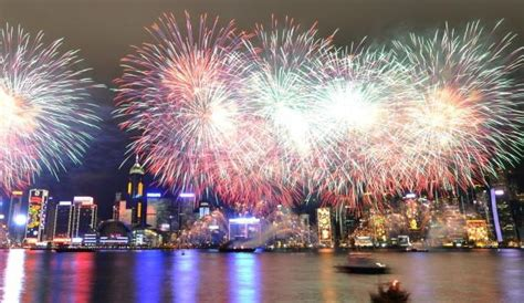 new year in hong kong image gallery hong kong fireworks