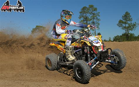 pro motocross riders pro atv motocross racer ronnie higgerson wallpaper