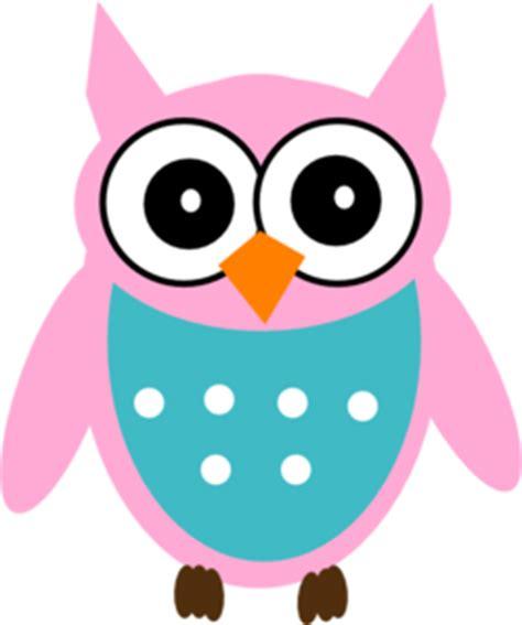 Munira Md 01 Pink Baby pink owl clip at clker vector clip