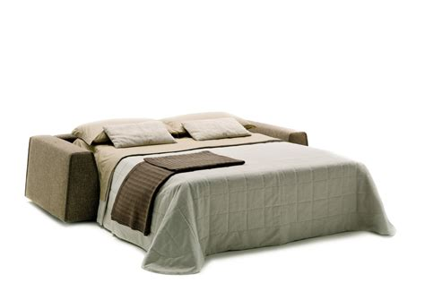 sofa bed with low backrest