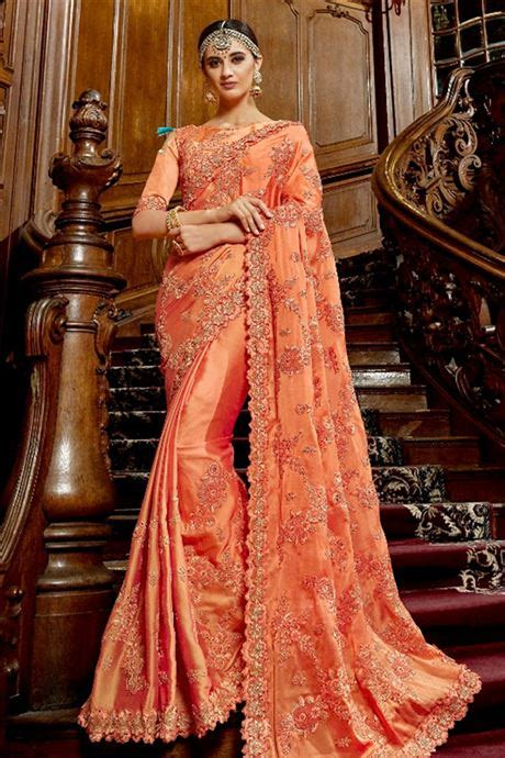 unique heavy thread work pure silk party wear designer